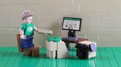 Free instructions for custom LEGO models