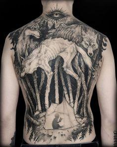 Tattoo Art By Piotr Bemben : Best_tattoos 4 Tattoo, Arm Band Tattoo, Tattoo Drawings, Body Art Tattoos, New Tattoos, Skull Tattoos, Cool Tattoos, Blackwork, Black Tattoo Art