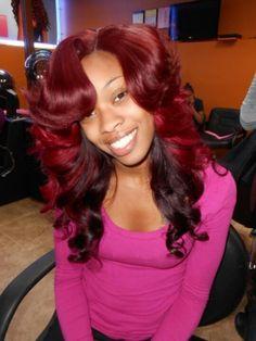 Black Women Weave Hairstyles | Black girl hairstyles weaves and wigs