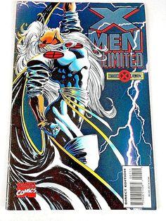 X-Men Unlimited Volume 1 1994 Number 7 Marvel Comics Book