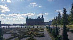 Jardines del Museo Histórico de Dinamarca. Hillerod