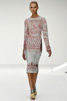 Mary Katrantzou Spring 2013 Ready-to-Wear Fashion Show