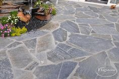 Kleansis Plakes Flagstones, afgevoegd met ARDEX GK grijs