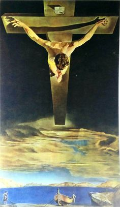 Salvador Dali Christ of Saint John of the Cross 1951 Original Lithograph, Small https://www.etsy.com/listing/486501722/salvador-dali-christ-of-saint-john-of?utm_campaign=crowdfire&utm_content=crowdfire&utm_medium=social&utm_source=pinterest