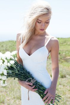 One of a kind wedding dresses from @katiemayla. #bride #wedding #unique #love #fitted