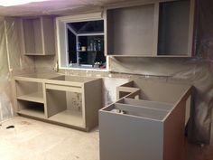 Kitchen after paint