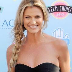Sports Broadcaster Erin Andrews' Hair and Beauty Tips - Shape Magazine