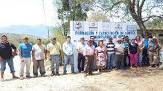 Arroyo Seco, Qro 21/abril/2016. Con la presencia de personal del departamento de Obras Públicas, Contraloría del Estado, Sedesoq y CDI...