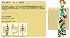 Custard? Mood board by Pantone