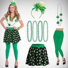f04b69404 St. Patrick's Day Party Costumes, Outfit Ideas | Fancy Dress Costumes on Saint  Patrick