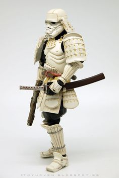 Bandai Star Wars Movie Realization 7-inch tall Ashigaru Stormtrooper action figure Review II