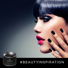 Coal Black represents the determination of a strong and sensual woman. Coal Black è la determinazione di una donna che decide di essere forte e sensuale. www.feduacosmetics.com #fedua #feduacosmetics #beautyinspiration