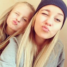 Dagi und ihrer Schwester lena