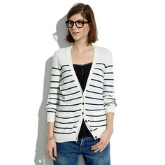 Madewell - Inlet Cardigan in Stripe
