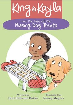 Illustrated Chapter Books BUY NOW Excerpt Series Activity Kit Poster King & Kayla and the Case of the Missing Dog Treats Part of King & Kayla by Dori Hillestad Butler illustrated by Books For Beginning Readers, Early Readers, Books About Bullying, Sneaky Cat, Peanut Butter Dog Treats, Nancy Meyers, Dog Books, Early Literacy, Mystery Books