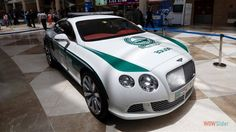 Bentley Continental police car http://ajackpot.com/images/millionaire-cars/index.shtml