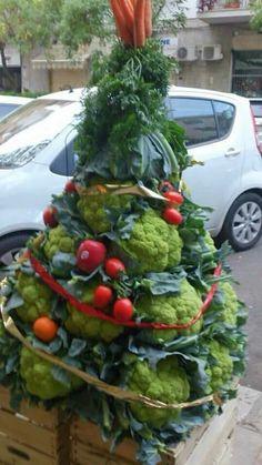 #Vegetable #Christmas #tree