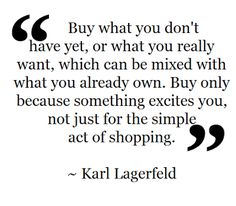 -Karl Lagerfeld Fashion Quote