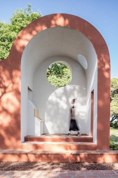 View full picture gallery of Flores & Prats' Vatican Chapel Pavilion Architecture, Sustainable Architecture, Landscape Architecture, Landscape Design, Architecture Design, Residential Architecture, Contemporary Architecture, Sacred Architecture, Architecture Student