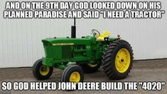 Country Girl Life, Country Girl Quotes, Country Farm, Farm Jokes, Farm Humor, Old John Deere Tractors, Big Tractors, Triumph Motorcycles, Farmer Quotes
