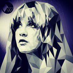 Finished Stevie Nicks print. #graphicdesign #illustration #illustrator #myart #art #artoftheday #instaart #portrait #stevienicks #artfido #dribbble #thedesigntip #thevectorproject #noapp #no3d #vector #wacom #adobe