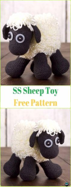 Mesmerizing Crochet an Amigurumi Rabbit Ideas. Lovely Crochet an Amigurumi Rabbit Ideas. Crochet Sheep Free Pattern, Crochet Bear, Crochet Dolls, Crochet Patterns, Crochet Animals, Amigurumi Patterns, Free Crochet, Softies, Crochet Scarves