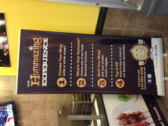 Banner in-store Banners, Sausage, Dips, Protein, Veggies, Store, Food, Sauces, Tent
