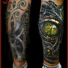 3d Tattoos, Unique Tattoos, Beautiful Tattoos, Black Tattoos, Body Art Tattoos, Tribal Cover Up, Black Tattoo Cover Up, Cover Up Tattoos, Realistic Eye Tattoo
