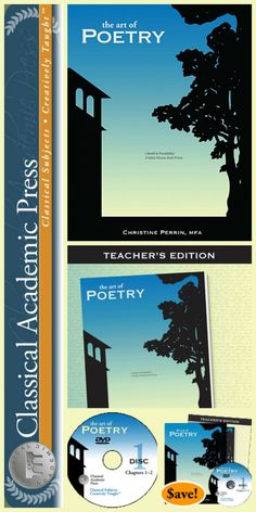 Classical Academic Press Art of Poetry Bundle -- Perfect for the 7th-12th grade homeschool.  $99