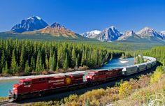 Canadense - Sete jornadas de trem imperdíveis