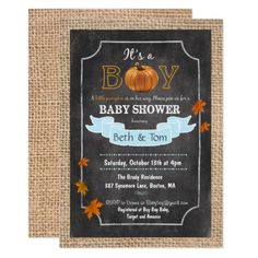 Fall baby shower invitations a pinterest collection by lovegift168 fall autumn pumpkin baby boy shower invitation by paperandpomp filmwisefo
