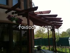 Pergole lemn, modele semirotund 438 Neon Signs, Outdoor Structures