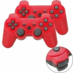 2Pcs Wireless Bluetooth Controller for Sony PlayStation 3 PS3 / PC