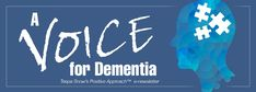 A Voice for Dementia nameplate