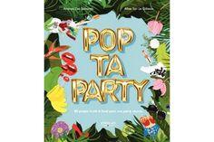 Livre Pop ta party.    Pimpez vos fêtes avec ce livre, mine d'or du DIY et de la décoration de fêtes !    Pour un mariage, un anniversaire, le quotidien...