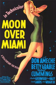 Moon Over Miami - 1941 art by Vargas