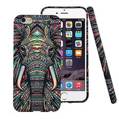Find amazing iPhone 7 Plus Case,CLOUDS Luminous Luxury Fashion Cool Cute Elephant Tribe Animal TPU Rubber Durable Protective Case Cover for Apple iPhone 7 Plus -Colorful Elephant elephant gifts for your elephant lover. Great for any occasion! Colorful Elephant, Cute Elephant, Elephant Gifts, Elephant Design, Iphone 8 Plus, Buy Iphone, Iphone 6 Covers, Iphone 8 Cases, Iphone 5s