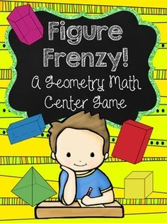 Review geometry in third-grade with Figure Frenzy!