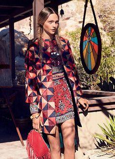 Sasha Pivovarova byMikael Jansson for Vogue US, February 2014