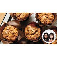Muffins aux pêches et à l'érable Geneviève O'Gleman – Dt.P. Nutritionniste