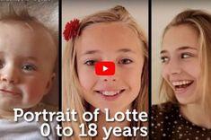 Doğumundan 18 Yaşına Kadar Kızının Fotoğraflarını Çeken Babanın Hazırlığı Güzel Video