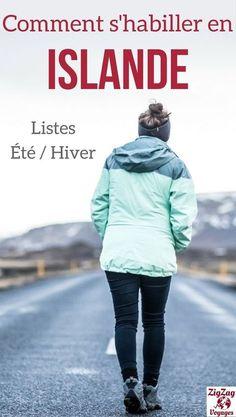 Islande Voyage - Guide pratique pour savoir quoi emmener en Islande - Comment s'habiller en Islande en �t� ou en hiver ? V�tements Islande, chaussures Islande et autres conseils pratiques | Islande itin�raire | Valise Islande