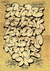 Another Graffiti alphabet