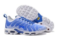 1cca593219bc Superior Quality Nike Air Max Plus TN Ultra Sneakers White Royal Blue Men's  Running Shoes 881560