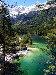 Lago di Tovel, Dolomiti, Italy #italy #alps