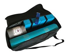 Clever Yoga Kit 7-Piece Set Bundle Including Ultra Thick 6mm TPE Mat, 2 Blocks, 8 Foot Yoga Strap, 1 Hand Towel, 1 Large Mat Towel and Extra Large Carrying Bag (Blue) - http://www.exercisejoy.com/clever-yoga-kit-7-piece-set-bundle-including-ultra-thick-6mm-tpe-mat-2-blocks-8-foot-yoga-strap-1-hand-towel-1-large-mat-towel-and-extra-large-carrying-bag-blue/yoga/