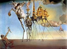 Salvador Dali The Temptation of St. Anthony painting for sale - Salvador Dali The Temptation of St. Anthony is handmade art reproduction; You can shop Salvador Dali The Temptation of St. Anthony painting on canvas or frame. L'art Salvador Dali, Salvador Dali Paintings, Dali Prints, Temptation Of St Anthony, Illusion Paintings, Henri Matisse, Surreal Art, Art Pictures, Les Oeuvres