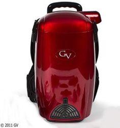 GV 8 Qt Quart Light Powerful HEPA BackPack Vacuum