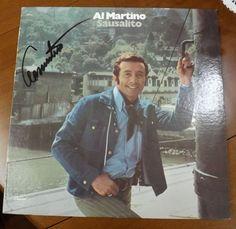 """Al Martino """"Sausalito"""" signed Record Album"""