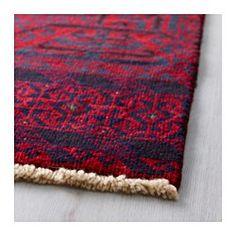 IKEA - PERSISK BELUTCH, Tapis, poils ras, , Tapis noués à la main par des artisans qualifiés pour des motifs et tailles uniques.Le nouage et la grande qualité de la laine rendent le tapis très résistant.Ce tapis est composé de laine, ce qui le rend naturellement peu salissant et très résistant.Le velours dense et épais atténue le bruit et constitue une surface douce sous les pieds.
